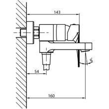 Set rubinetteria per doccia e vasca Clio GME