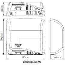 Asciugamani satinato Speedflow Plus Mediclinics