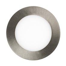 Piastra LED rotonda ultrasottile Ø 12x2 cm 6W...