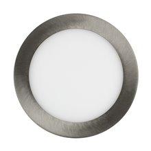 Piastra LED circolare ultrasottile Ø17x2 cm 12W...