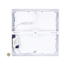 Plafoniera LED quadrata per soffitto 30x30x4 cm...