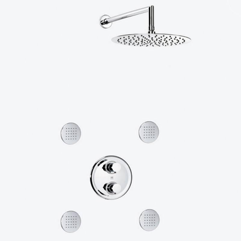Set doccia termostatica superpiatto DELTA