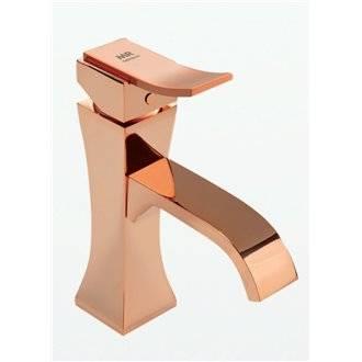 Rubinetto miscelatore lavabo oro rosa INCA