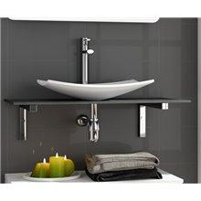 Piano per lavabo da appoggio 1,6 cm SPIRIT SALGAR