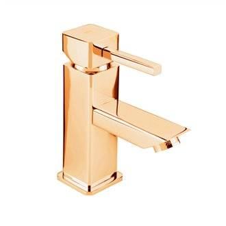 Rubinetto miscelatore per lavabo oro CATRAL