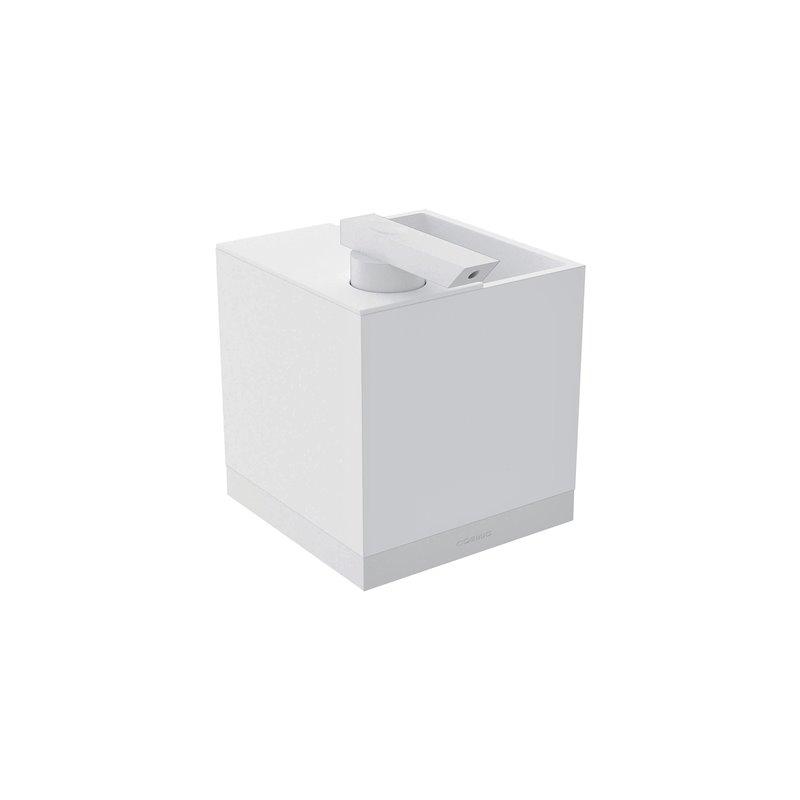 Portaspazzolini con dispenser a parete bianco The Grid COSMIC