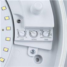 Plafoniera LED con rilevatore di presenza IP44...