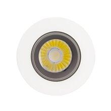Faretto LED rotondo direzionabile Ø 13x10 cm 18W nero