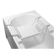 Sedile vasca da bagno acciaio Tubocolor Mediclinics