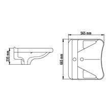 Lavabo ergonomico Casual Mediclinics