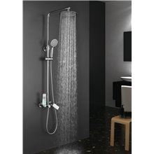 Set doccia monocomando Dual Round Llavisan