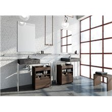 Lavabo Marmo Marquina Container COSMIC