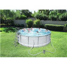 Piscina rotonda 427x122 cm POWER STEEL Bestway