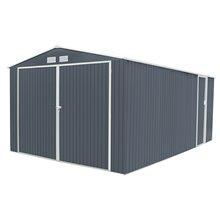 Garage in metallo 20,52m² Oxford grigio Gardiun