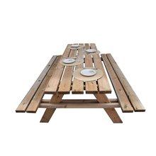 Tavolo in legno picnic 200x148x70cm Gardiun