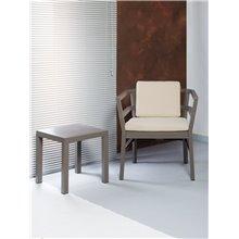 Tavolino d'appoggio marrone CLICK-CLACK Resol