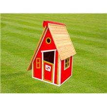 Casetta per bambini 1,24m² Peter rosso Outdoor...