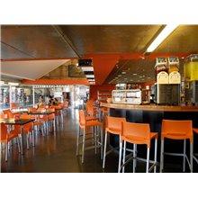 Set di 4 sgabelli arancione Rick Resol