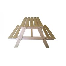 Tavolo fa picnic per bambini 90x70x50 cm Pumba...