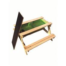 Tavolo da picnic per bambini 90x90x50cm Outdoor...