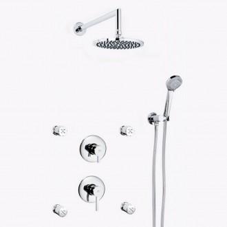 Set doccia da incasso 4 ugelli DELTA 13