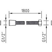 Tubo flessibile acciaio inox Clever