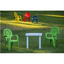 Set di 6 tavolini d'appoggio ANDORRA Resol