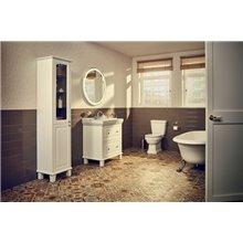 Mobile Unik 80 cm due cassetti e lavabo Carmen...