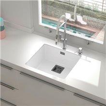 Lavello con 1 vasca bianco 50 x 45 cm Zie Poalgi