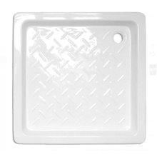 Piatto doccia quadrato in ceramica 80x80 Tegler