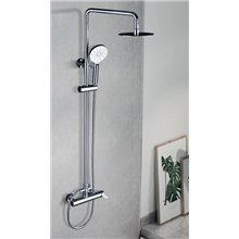 Colonna doccia cromata/bianca Imex Elba