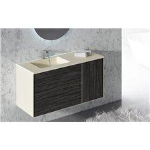 Mobile con lavabo e specchio per il bagno ARKANSAS Doccia Group