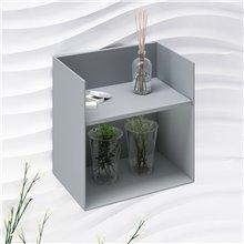 Mobile ausiliare metallico con mensola RODANO - Doccia Group