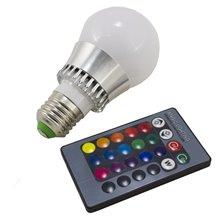 Lampadina LED con luce RGB da 5W E27