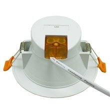 Faretto LED Downlight 12W GRANDANGOLO bianco