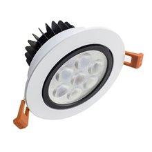 Faretto LED circolare direzionabile 7W bianco