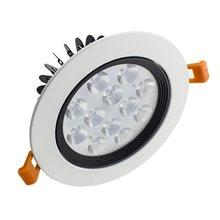 Faretto LED circolare direzionabile 12W bianco