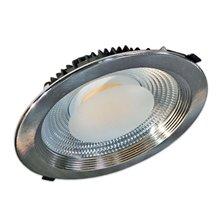 Proiettore per soffitto LED rotondo 30W ARGENTO