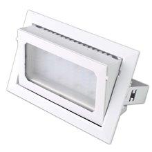 Proiettore per soffitto LED quadrato 30W BIANCO