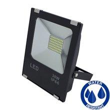 Riflettore LED quadrato 30W PIATTO