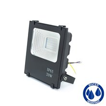 Riflettore LED quadrato 20W PIATTO