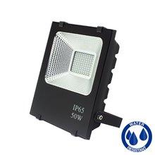 Riflettore LED quadrato 50W PIATTO