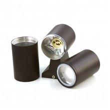 Applique nero alluminio 2xGU10