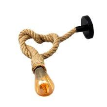 Lampada a sospensione corda E27