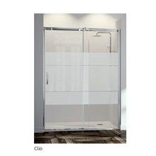 Box doccia fisso frontale decorazione ClioFR633 Kassandra