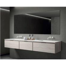 Mobile bagno Life di 151 cm con 3 cassetti con lavabo B10