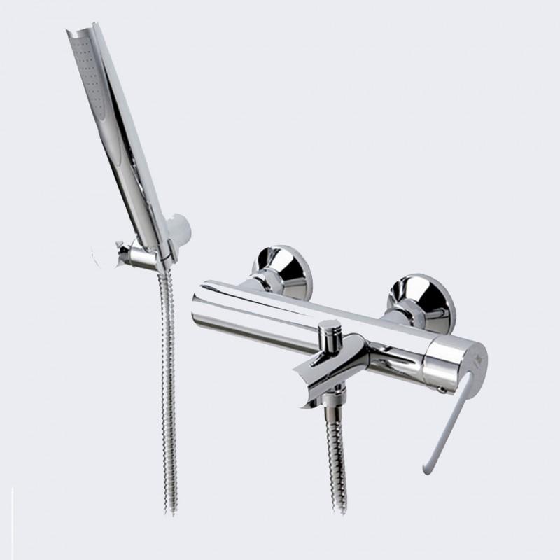 Rubinetto miscelatore per vasca da bagno con doccino DELTA 07