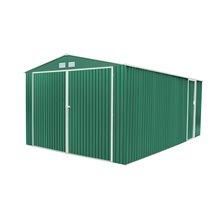 Garage in metallo 20,52m² Oxford verde Gardiun