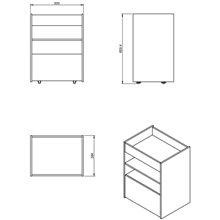 Container Rettangolare Lusso COSMIC