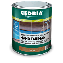 Lasur con nanoparticelle per assi da pavimento CEDRIA